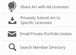 Art Licensor Subscription Benefits