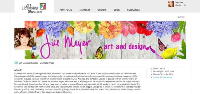 Jill Meyer, Founding Member Profile Page