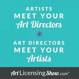 A meeting place for art directors and art licensing artists