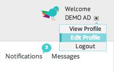 Edit Profile Button