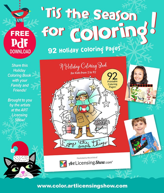 The Coloring Book Project 2nd Edition Download 92 Pages Of Free Holiday Something
